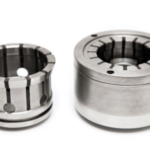 standard external collet chuck assembly with spare collet