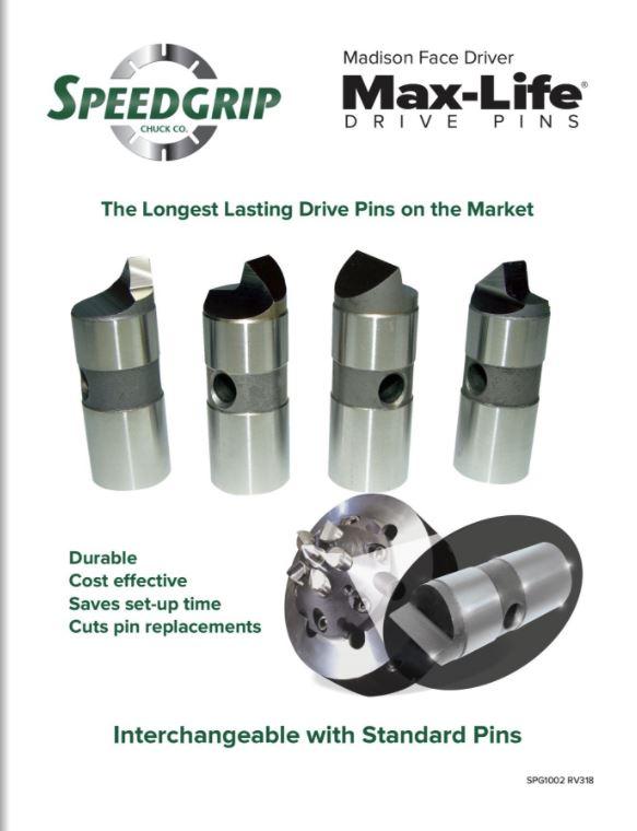 max life drive pins flyer image