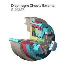 Diaphragm Chucks External E 40627