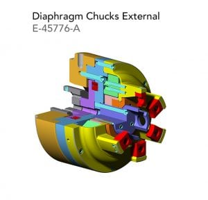 Diaphragm Chucks External E 45776 A