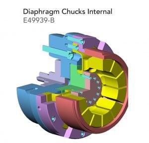 Diaphragm Chucks Internal E49939 B