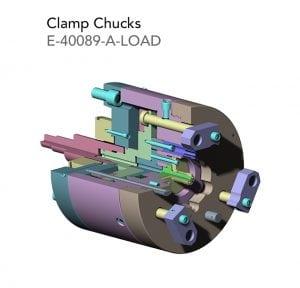 clamp chucks E 40089 A LOAD