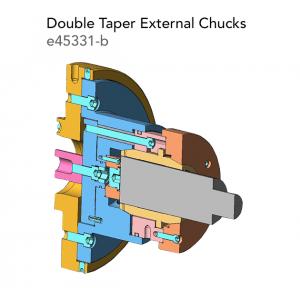 Double Taper External Chucks e45331 b
