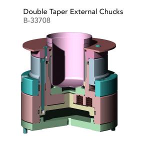 Double Taper External ChucksB 33708