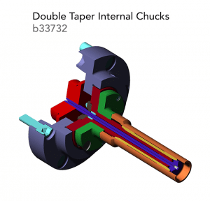 Double Taper Internal Chucks b33732