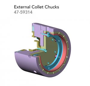 External Collet Chucks 47 59314