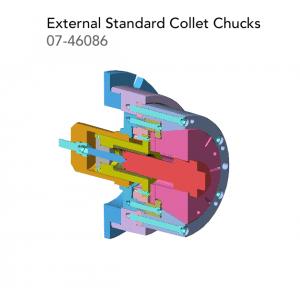 External Standard Collet Chucks 07 46086