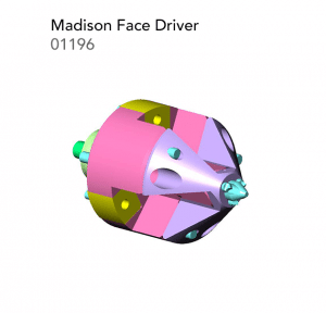 Madison Face Driver 01196