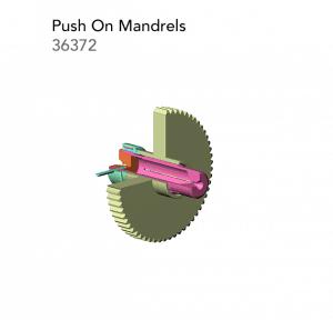 Push On Mandrels 36372