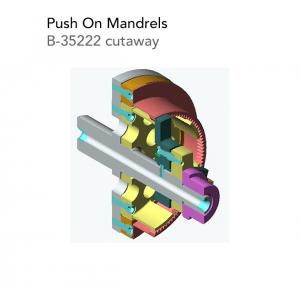 Push On Mandrels B 35222 cutaway