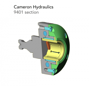 cameron hydraulics 9401 section