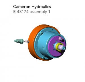 cameron hydraulics E 43174 assembly 1