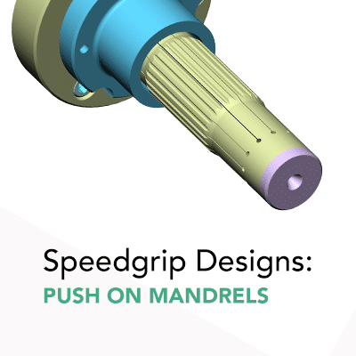 examples thumbnail speedgrip Push On Mandrels