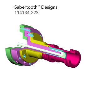 Sabertooth Designs 114134 22S