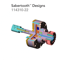 Sabertooth Designs 114310 22
