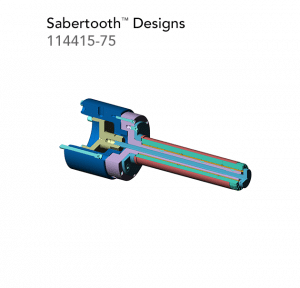 Sabertooth Designs 114415 75