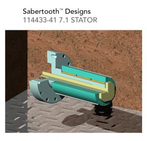 Sabertooth Designs 114433 41 7.1 STATOR