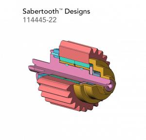 Sabertooth Designs 114445 22